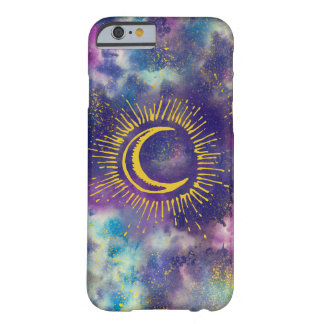 """Moon"" Phone Case (Gold-Etc)"
