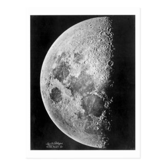 Moon Photograph 1865 Post Cards