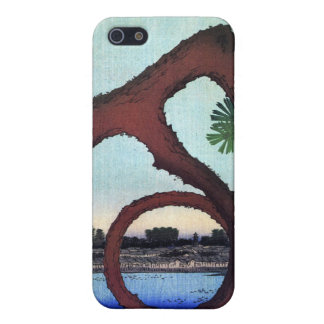 Moon Pine Ueno, Hiroshige Case For iPhone 5/5S
