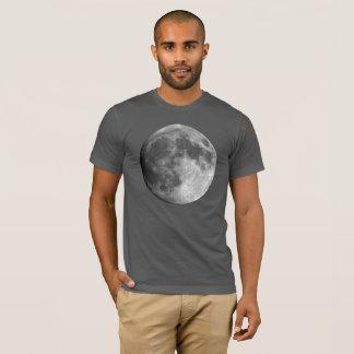 Moon Planet Men's Basic American Apparel T-Shirt