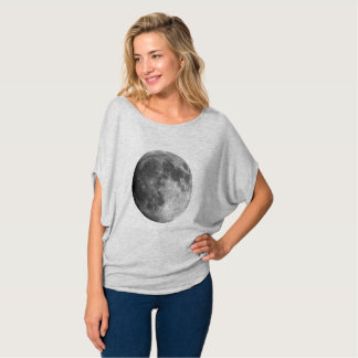 Moon Planet Women's Bella+Canvas Flowy Circle Top