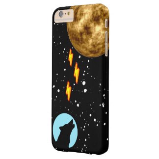Moon Powerful Wolf Barely There iPhone 6 Plus Case