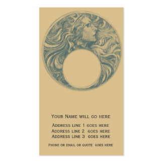 Moon Princess Business Card Templates