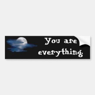 Moon Quote (Wizard People) Bumper Sticker