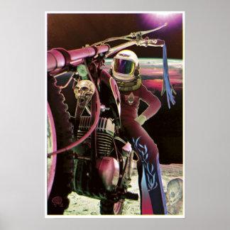 Moon Rider - Poster Print