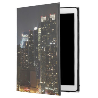 "Moon rises over midtown New York. iPad Pro 12.9"" Case"