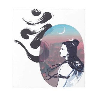 Moon Rising Ohm Notepad