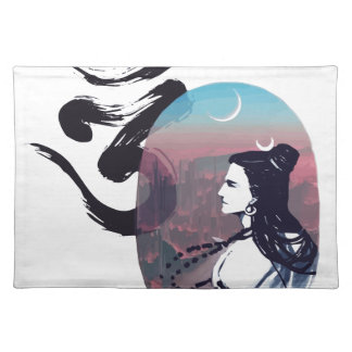 Moon Rising Ohm Placemat