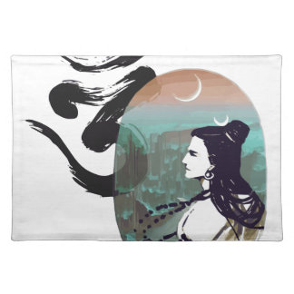 Moon Rising  Shiva Placemat