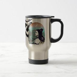 Moon Rising  Shiva Travel Mug