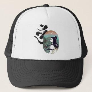 Moon Rising  Shiva Trucker Hat