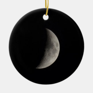 Moon Round Ceramic Decoration