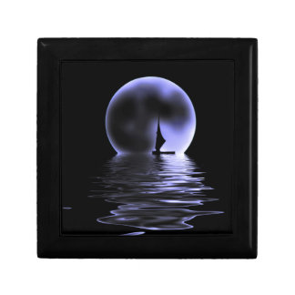 Moon Sailboat Gift Box