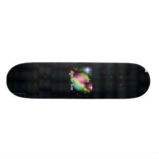 moon-shine-background, moon-shine-background, m... 21.3 cm mini skateboard deck