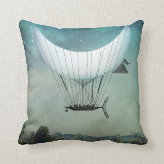 Moon Ship Pillow