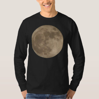 Moon Shirt Full Moon T-shirt Men's Moon Shirt