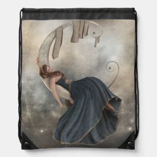 Moon Siesta String Bag