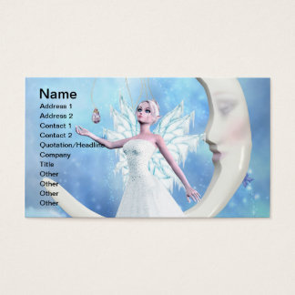 Moon Sky Fairy Business Card