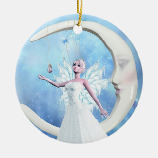 Moon Sky Fairy Ornament