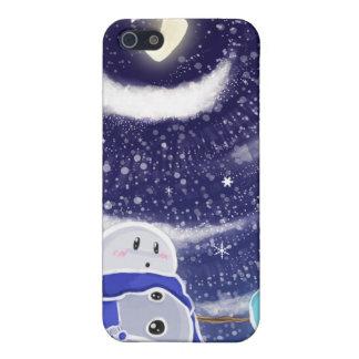 Moon Snow iPhone Case