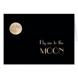 Moon Solitude Greeting Card