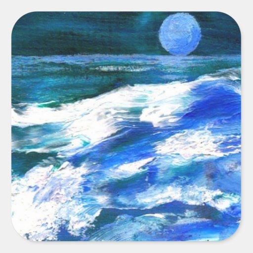 Moon Song - CricketDiane Ocean Art Stickers