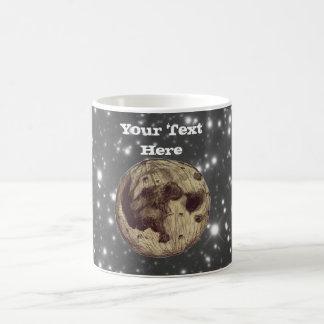 Moon Space Astronomy Basic White Mug