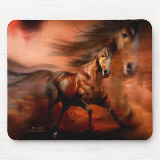 Moon Spirit Horse Mousepad