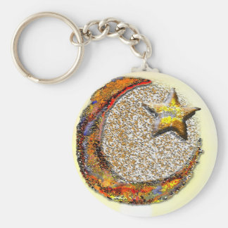 Moon-Star -Islam Key Ring
