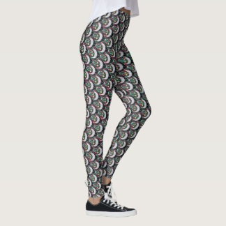 Moon, Stars, & Rising Sun Leggings
