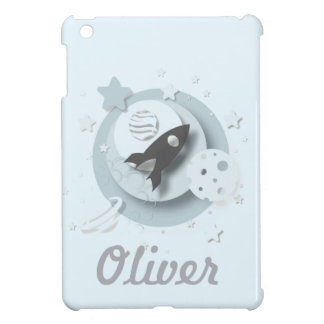 Moon & Stars Customisable iPad Cover