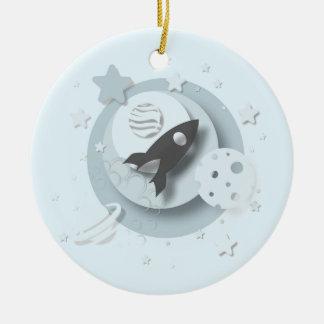 Moon & Stars Customisable Ornament