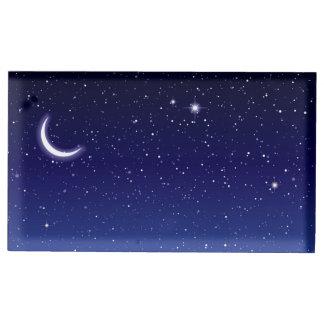 Moon & Stars Scene Table Card Holders