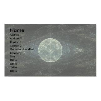 """""""Moon Station"""" Fractal Art Business Cards"""