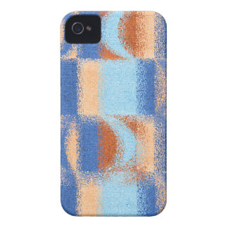 Moon Stripes Fade Pattern iPhone 4 Case-Mate Case