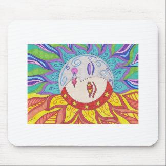 Moon Sun Design Mouse Pad