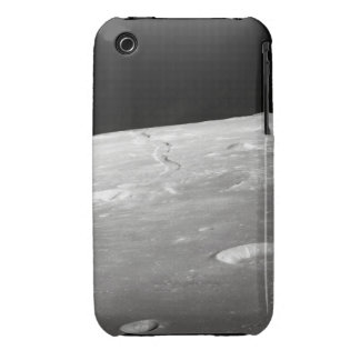 Moon Surface and Horizon 2 iPhone 3 Cases