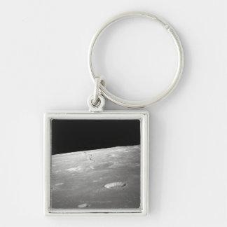 Moon Surface and Horizon 2 Key Ring