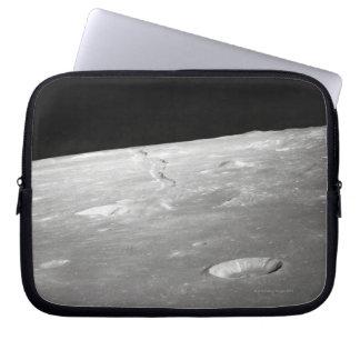 Moon Surface and Horizon 2 Laptop Sleeve