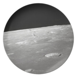 Moon Surface and Horizon 2 Plate