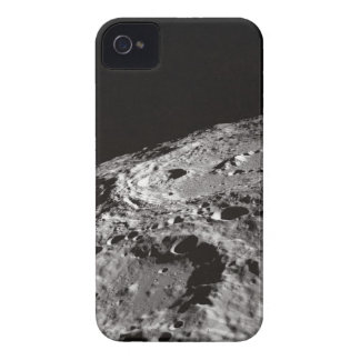 Moon Surface and Horizon iPhone 4 Case