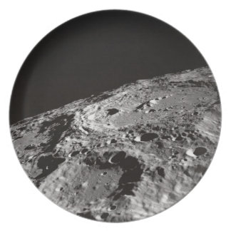 Moon Surface and Horizon Plate