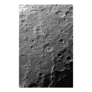 Moon surface customised stationery