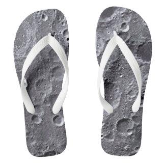 Moon surface flip flops