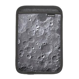 Moon surface iPad mini sleeve