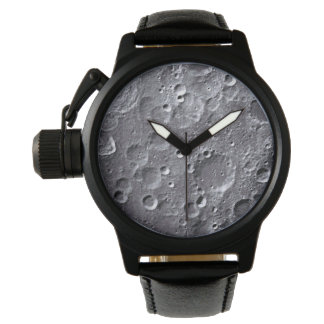 Moon surface watch