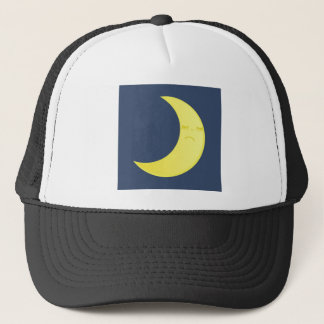 Moon symbol. trucker hat