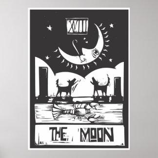 Moon Tarot Poster