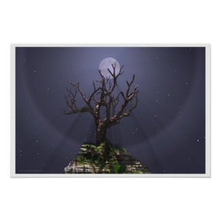 Moon Tree Posters