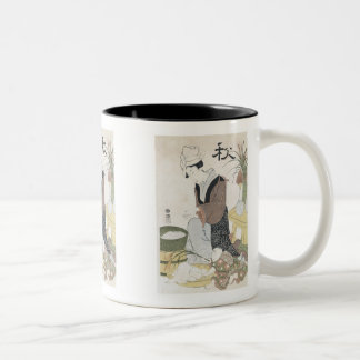 Moon Viewing in Autumn, Shucho Mugs and Steins